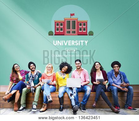 University College Academic Study Education Concept