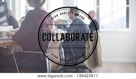 Collaborate Partnership Agreement Solution Strategy Concept