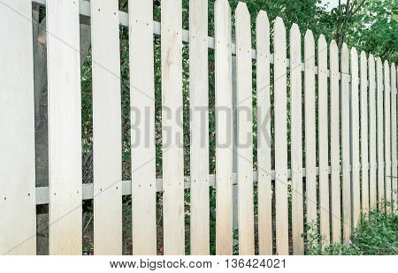 White Wooden fence background (white, fence, home)
