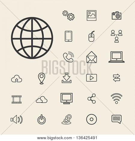 Vector Connection Digital Technology UI Concept