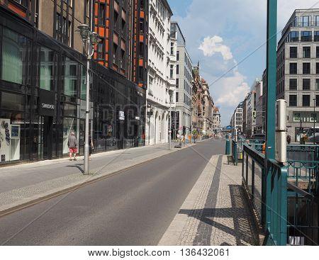Franzosischer Strasse In Berlin