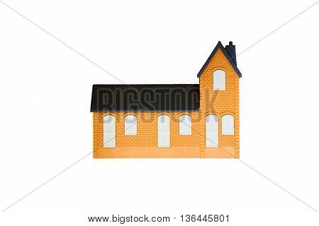 model toy sample house building for kid