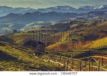 Romanian Rural Scenery