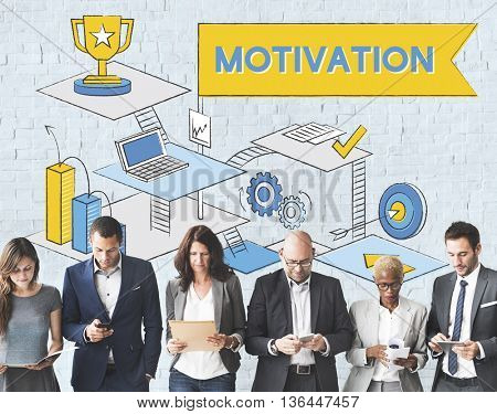 Motivation Aspiration Expectations Inspire Concept