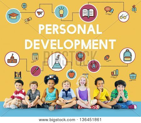 Training School Development Literacy Wisdom Concept