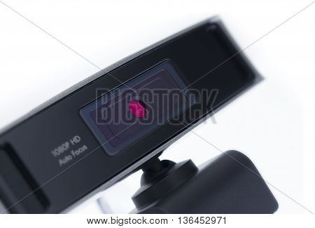 Web Camera, Webcam Isolated On White Background