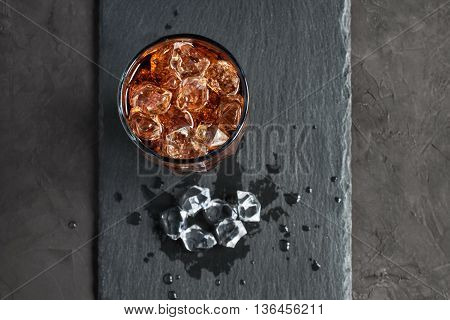 Cola With Ice Cube