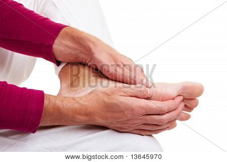 Man With Foot Pain