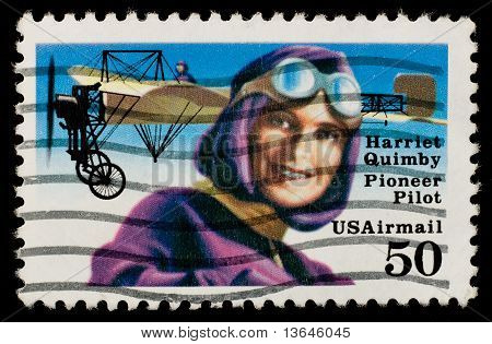 US Airmail Postage Stamp