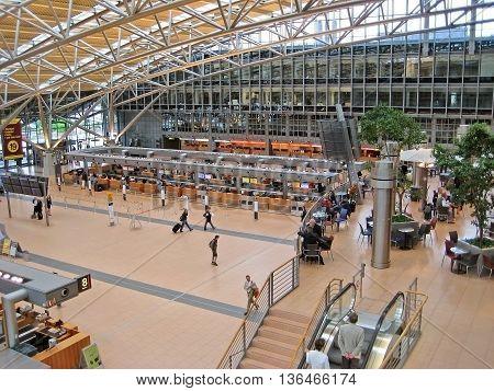 Hamburg Airport, Foyer