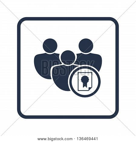 User Certificate Icon In Vector Format. Premium Quality User Certificate Symbol. Web Graphic User Ce