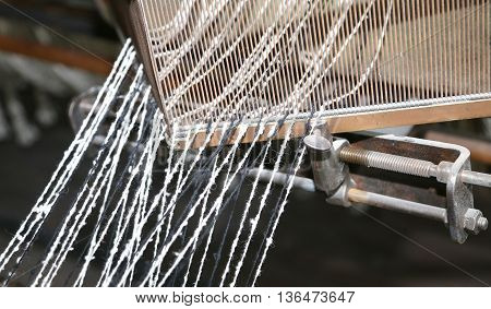 Loom For The Production Of The Fabrics In The Textile Industry