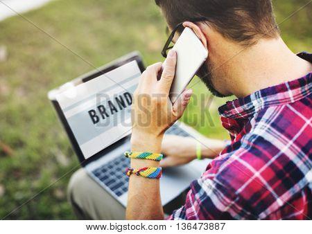 Brand Branding Marketing Business Strategy Concept