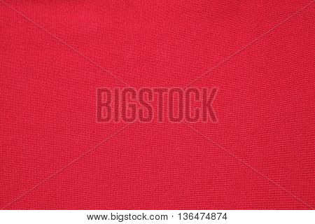 Red cloth fabric texture background , Red texture