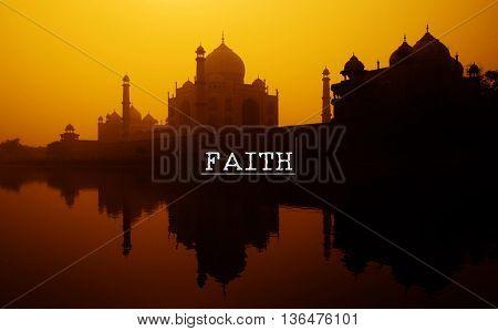 Faith Believe Church Creed God Hope Loyalty Concept