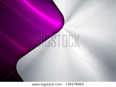 metal design with curve pattern