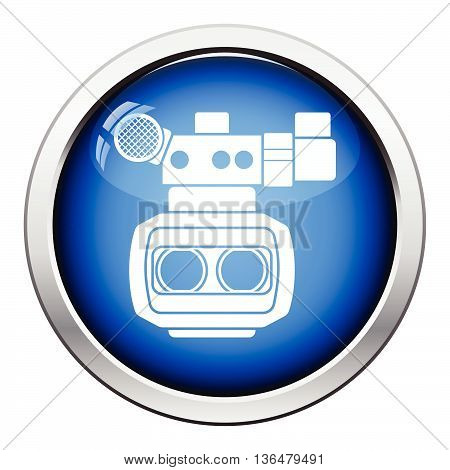3D Movie Camera Icon