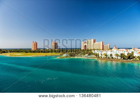 The Atlantis Paradise Island Resort, Located In The Bahamas
