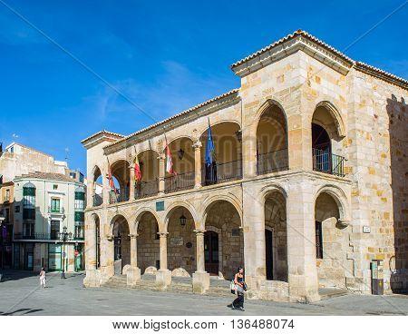 Old Town Of Zamora, Castilla Y Leon. Spain.