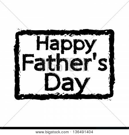 an images of Happy Father's Day Illustration design