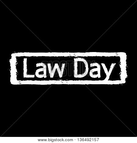 law day International Justice Day Illustration design