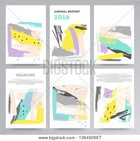 Abstract elements cards