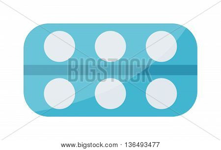 Tablets pills medical icons on white background. Tablet pills medical drug pharmacy care and tablet pills antibiotic pharmaceutical. Healthy vitamin tablet pills and prescription tablet pills