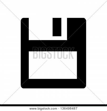 an images of Floppy Disk Icon Illustration design