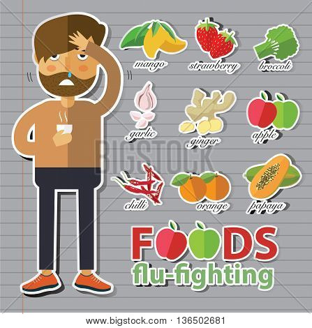 best food to fight cold and flu
