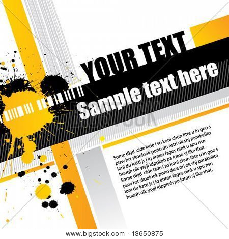 Abstract grungy background. vector.