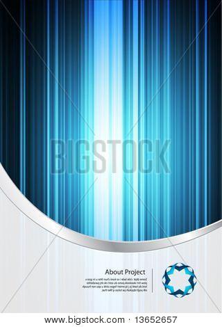 Business design template. Vector.