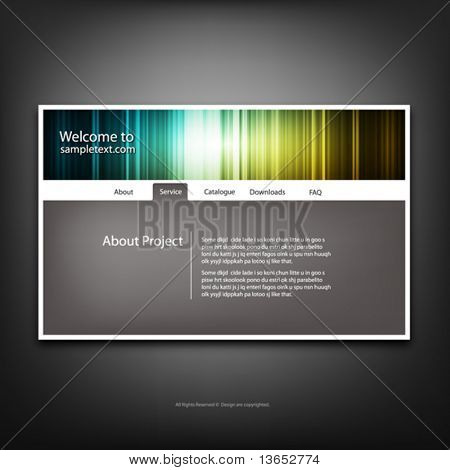 Website-Design-Templates, Vector.