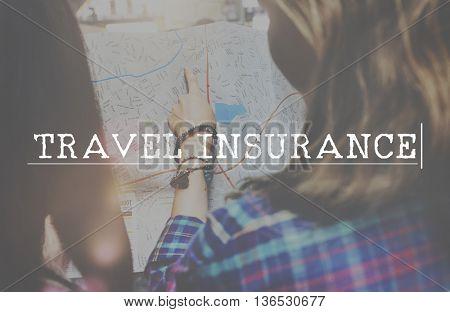 Travel Insurance Tourism Destination Vacation Concept