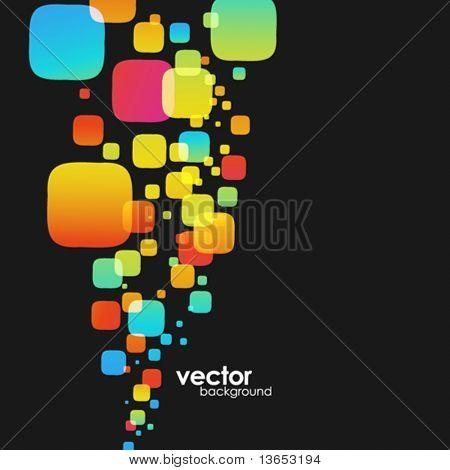 abstrakt colorful Background. Vector.