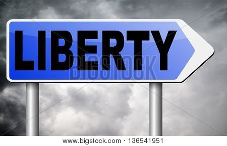 liberty freedom democracy and human rights free of speech