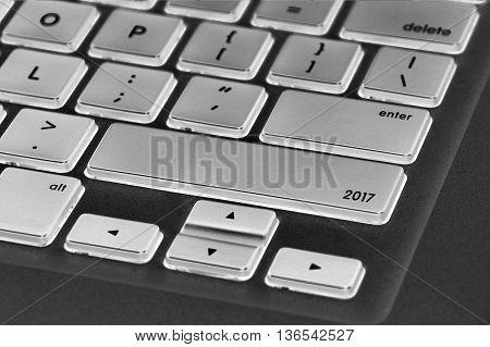 The Computer Keyboard Button Written Word 2017.