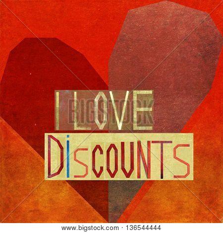 I love discounts