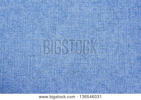 blue cotton fabric background for you design