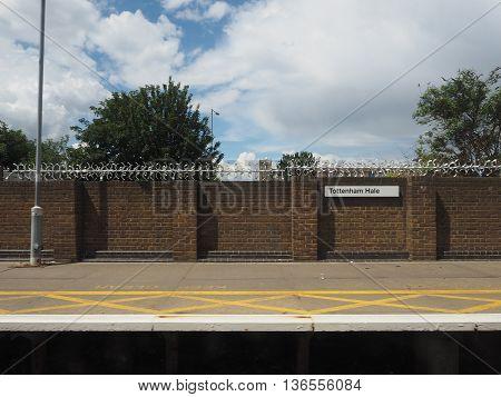 Tottenham Hale Station In London