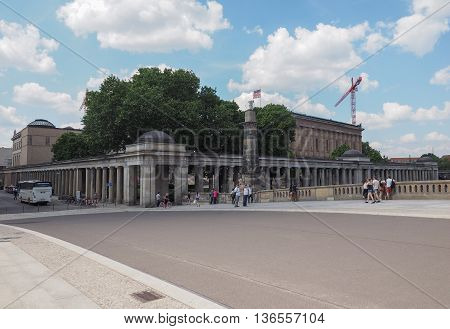 Museumsinsel (museums Island) In Berlin