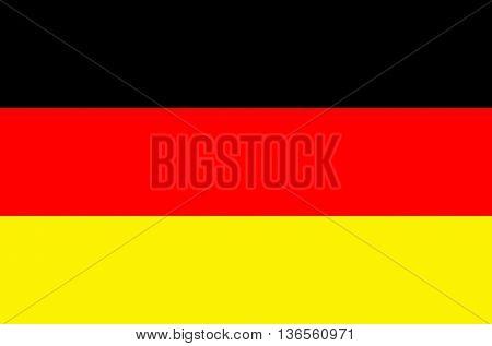 Germany flag vector illustration national flag isolated