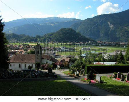 Interlaken And Wilderswil Birds Eye View