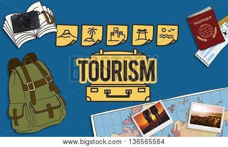 Tourism Travel Journey Trip Tour Concept