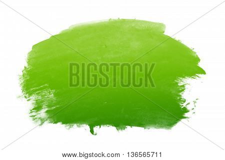 green gradient water color - abstract background