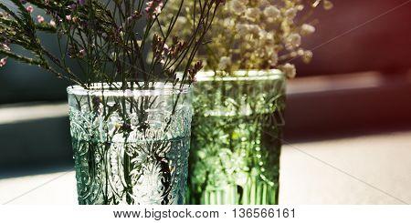 Flower Decorating Hobby Recreational Pursuit Concept