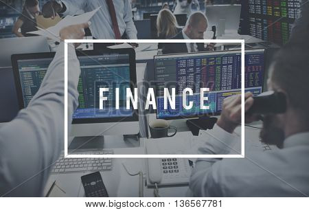 Finance Business Accounting Banking Money Concept