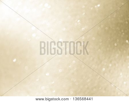 abstract background gold bokeh circles for Christmas background