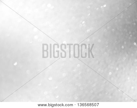 abstract background white bokeh circles for Christmas background