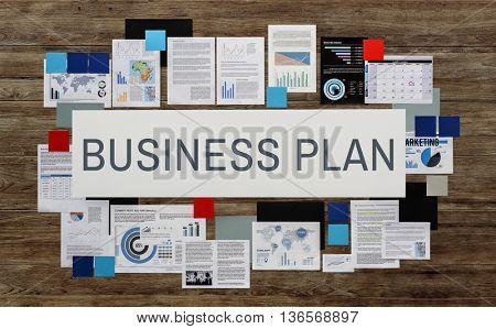 Business Plan Corporate Development Direction Concept