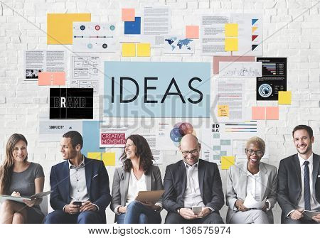 Ideas Creativity Objective Vision Concept